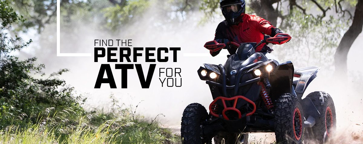 New Can-Am ATVs