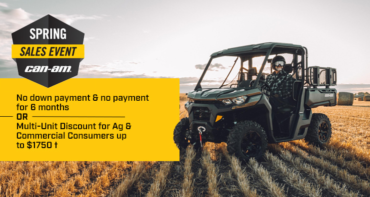 Can-Am Spring Sales Event