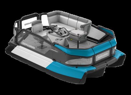 2022 Sea-Doo Switch Compact - 100 hp Caribbean Blue
