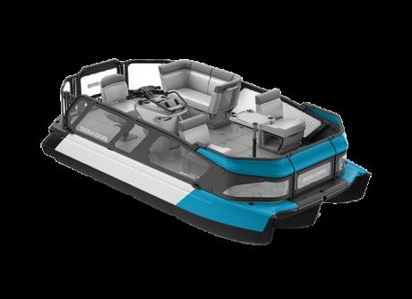 2022 Sea-Doo Switch 16 - 100 hp Caribbean Blue