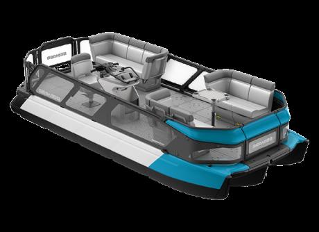 2022 Sea-Doo Switch 19 - 170 hp Caribbean Blue