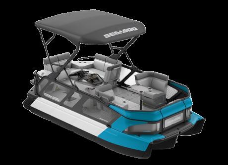 2022 Sea-Doo Switch Cruise 18 - 100 hp Caribbean Blue