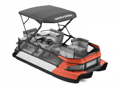 2022 Sea-Doo Switch Cruise 18 - 100 hp Coral Blast