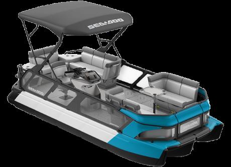 2022 Sea-Doo Switch Cruise 21 - 170 hp Caribbean Blue