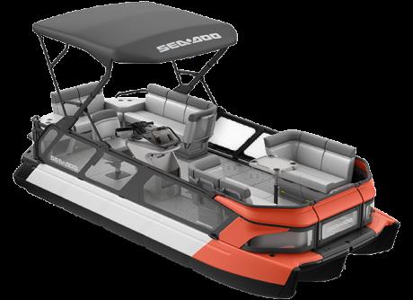 2022 Sea-Doo Switch Cruise 21 - 170 hp Coral Blast