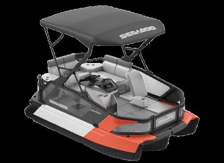 2022 Sea-Doo Switch Sport Compact - 170 hp Coral Blast