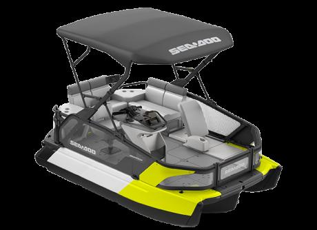 2022 Sea-Doo Switch Sport Compact - 170 hp Neon Yellow