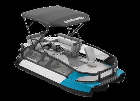 2022 Sea-Doo Switch Sport 18 - 230 hp Caribbean Blue