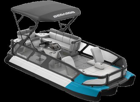 2022 Sea-Doo Switch Sport 21 - 230 hp Caribbean Blue