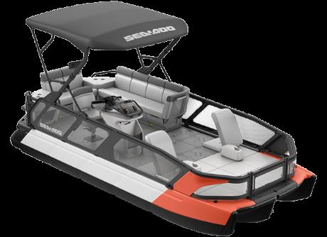 2022 Sea-Doo Switch Sport 21 - 230 hp Coral Blast