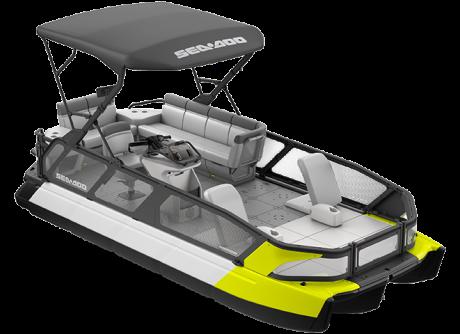 2022 Sea-Doo Switch Sport 21 - 230 hp Neon Yellow