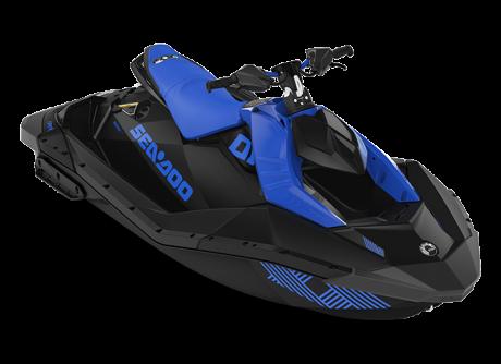 2022 Sea-Doo SPARK TRIXX 2 up dazzling-blue/deep-black