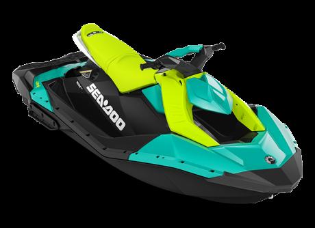 2022 Sea-Doo SPARK 3 up reef-blue/manta-green