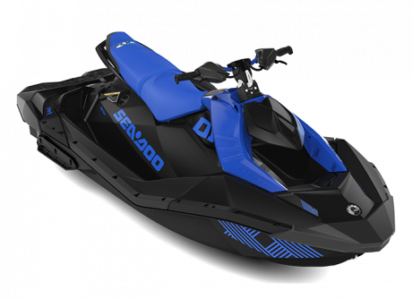 2022 Sea-Doo SPARK TRIXX 3 up dazzling-blue/deep-black