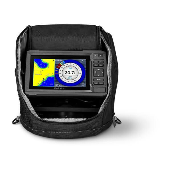 ECHOMAP™ UHD 63cv Ice Fishing Bundle With GT8HW-IF Transducer